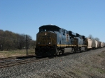 CSX 5315 & 5317 heading west with K905